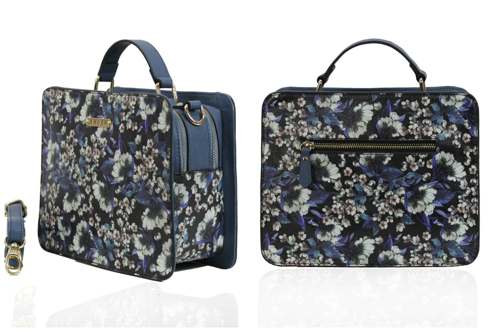 LYDC London grab bag winter floral, blue, purple - 100 Ways to 30