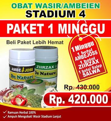 Obat Wasir Ambeien Khusus Stadium 4