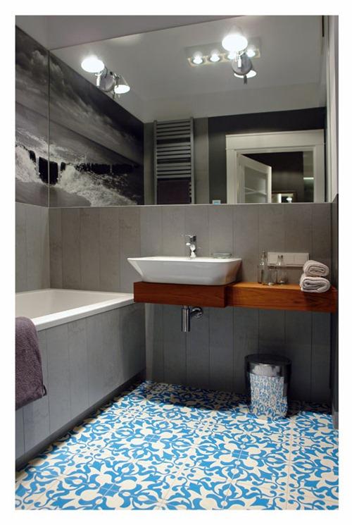 Achados de Decoração, blog de decoração, apartamento masculino, decoração com cinza e turquesa, apartamento pequeno decorado