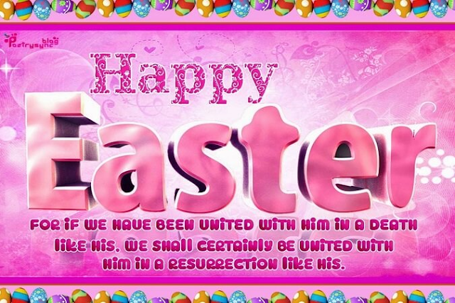 Happy Easter Wishes Messages 2018