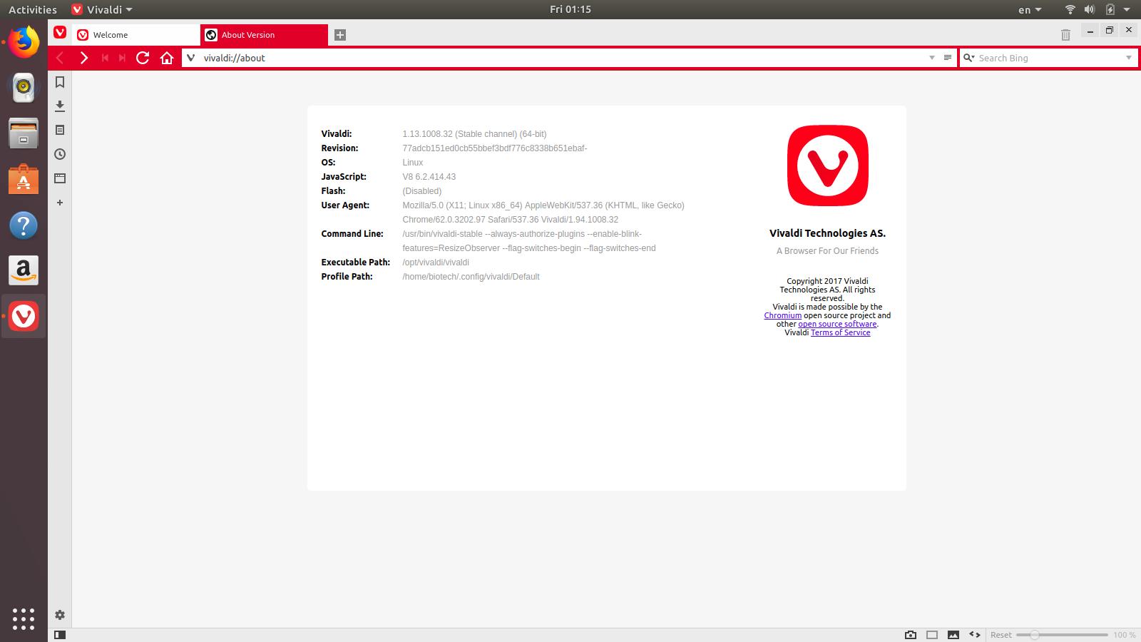 How to install program on Ubuntu: How to install Vivaldi