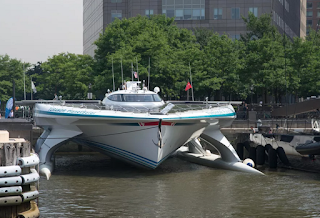 Tûranor PlanetSolar, first boat to circle the globe with solar power