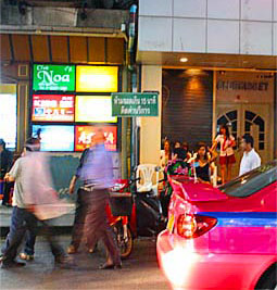Bangkok nightlife at Thaniya Plaza bars