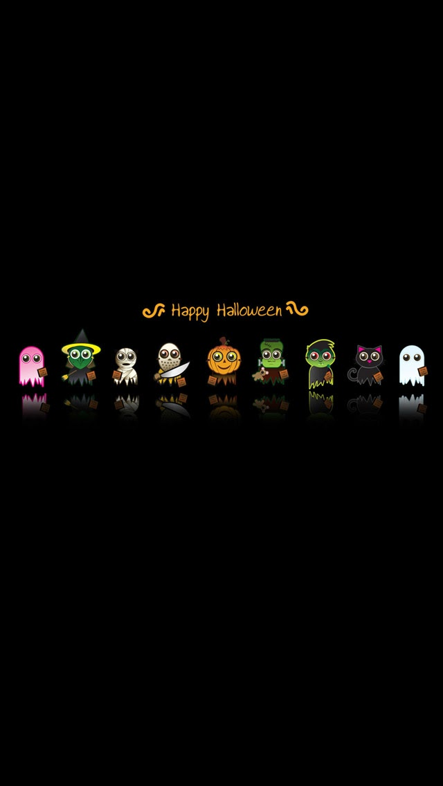 Just Sharing with U: iPhone 5 & iPhone 5S WallPaper for Halloween.