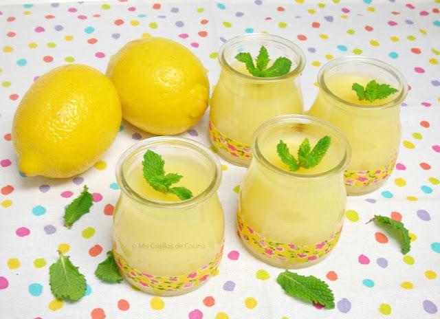 como preparar crema de limon