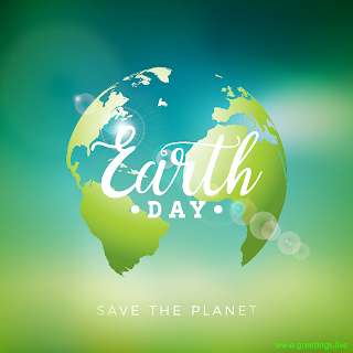 Save The Planet Earth Day 2019 greetings