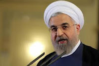 Iranian President calls for formation of intl. fact-finding committee to investigate chemical weapons attack