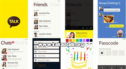 KakaoTalk para Windows Phone gratis