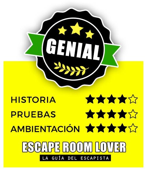 Locus Fugae - El testamento - Escape Room - Opiniones