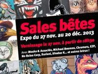 http://galerieligne13paris.blogspot.fr/2013/11/exposition-sales-betes-du-27-nov-au-20.html