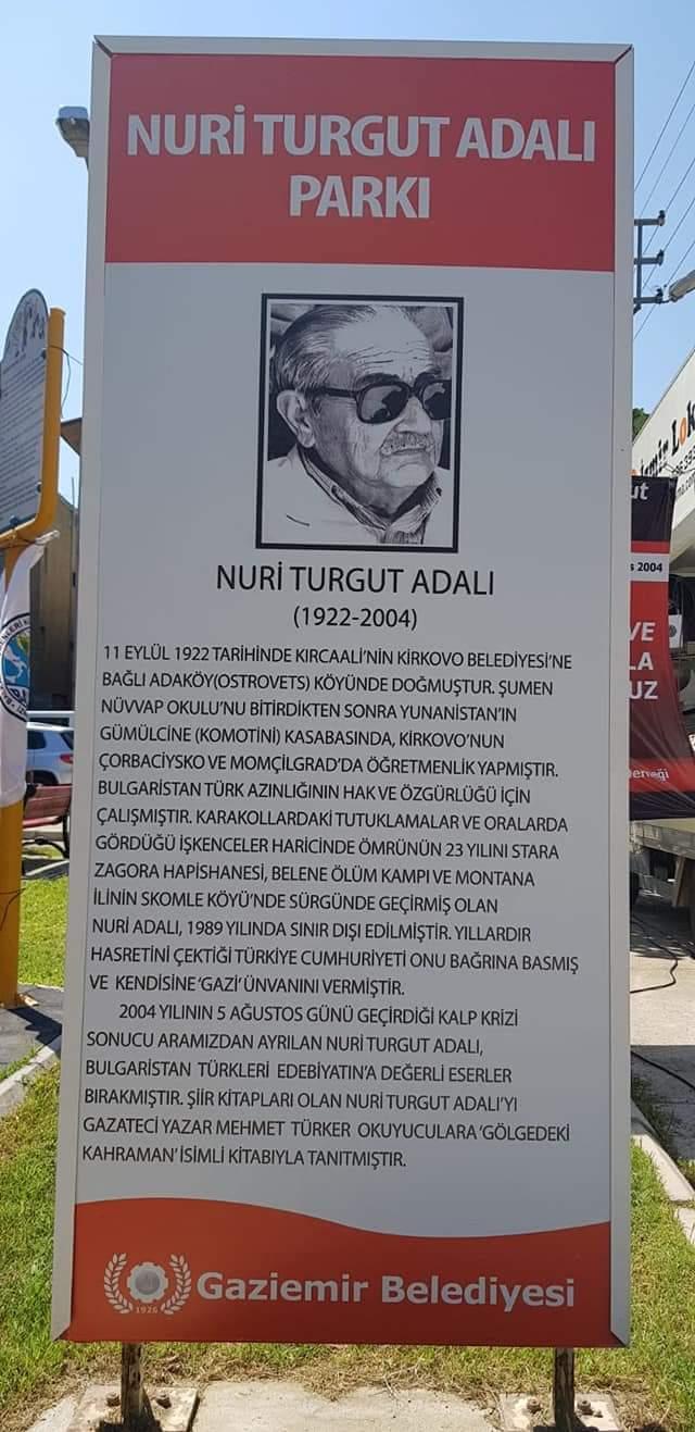 Bulgaristan Türklerinin ve Türk Dünyası Milli Kahramanı Gazi Nuri ...