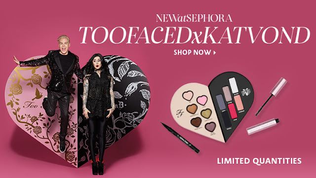 Too Faced Cosmetics Collab With Kat Von D Sneak Peek at sephora by barbies beauty bits