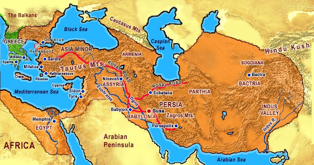 Império Persa e a História da Civilização Persa (539 a.C.-331 a.C.)