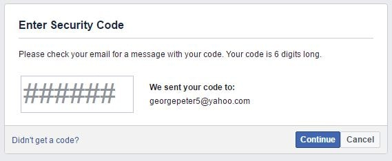 تهكير الفيسبوك بإستخدام خدعة نسيت كلمة السر