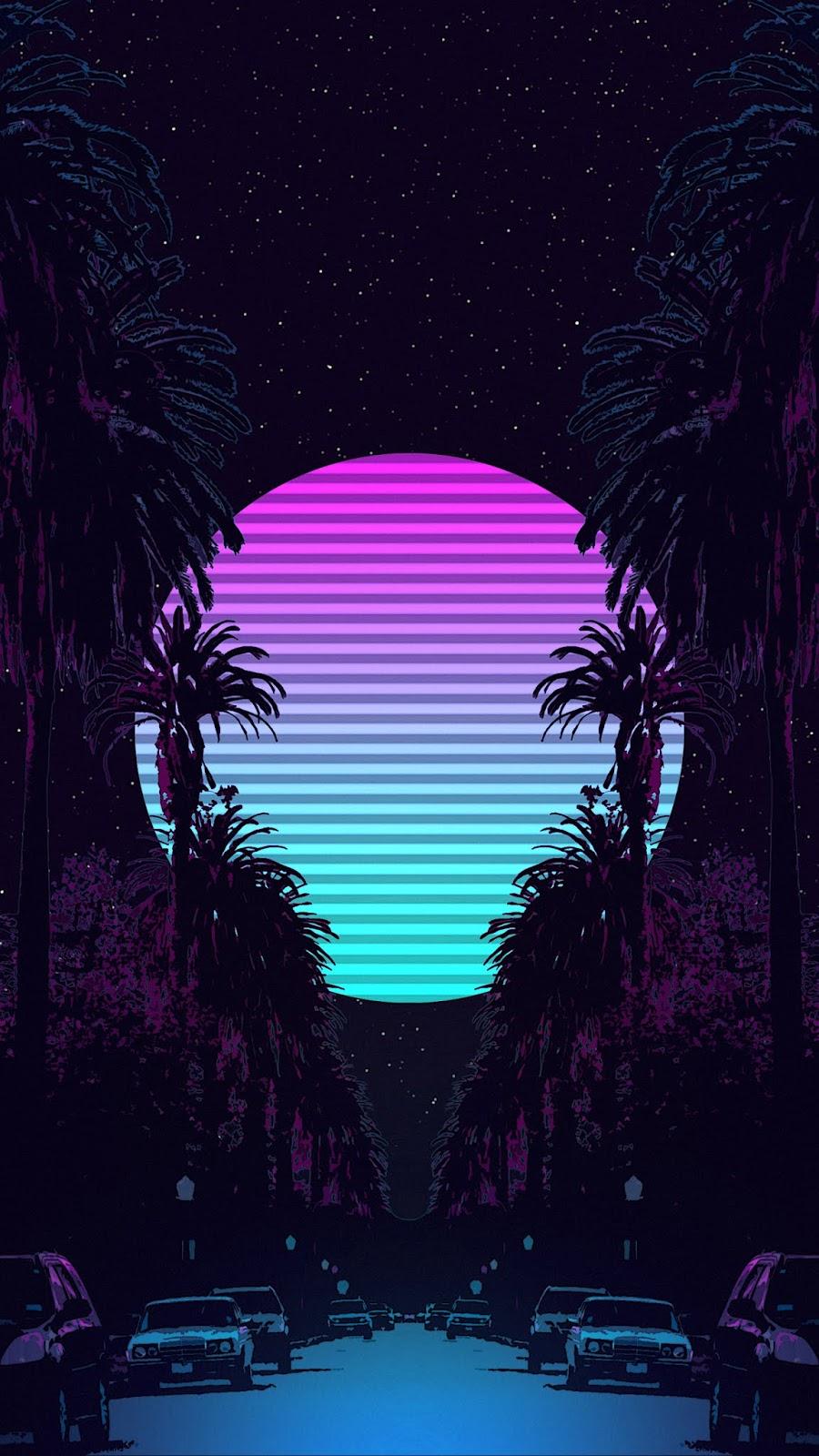 Retrowaves night