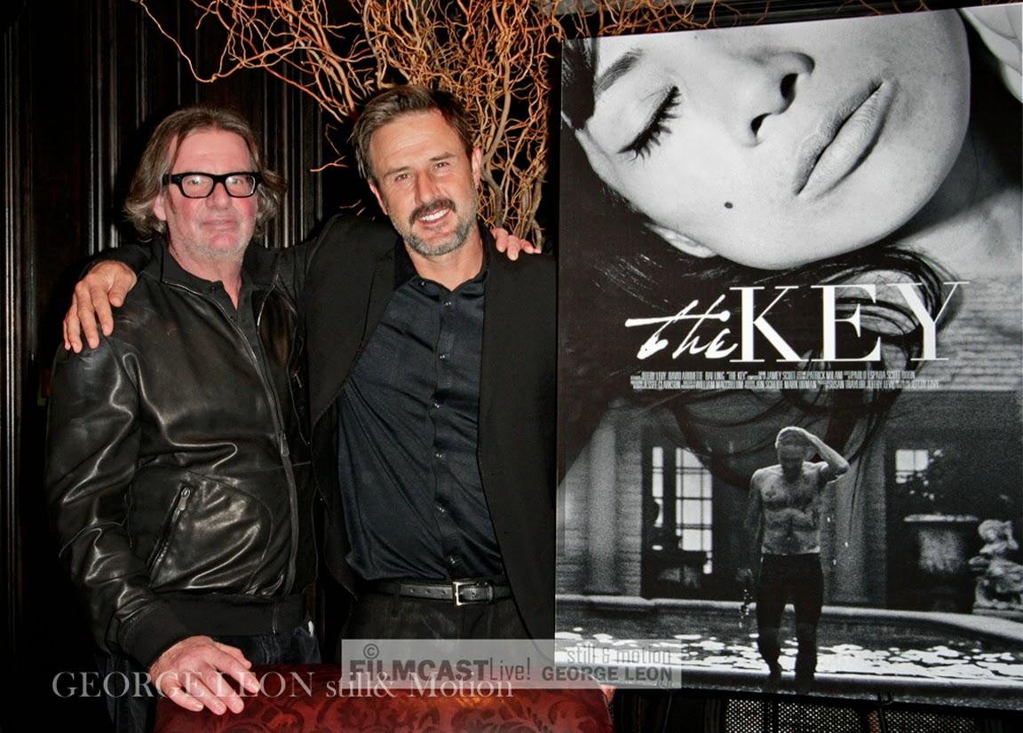 Jefery Levy, David Arquette   © George Leon / filmcastlive