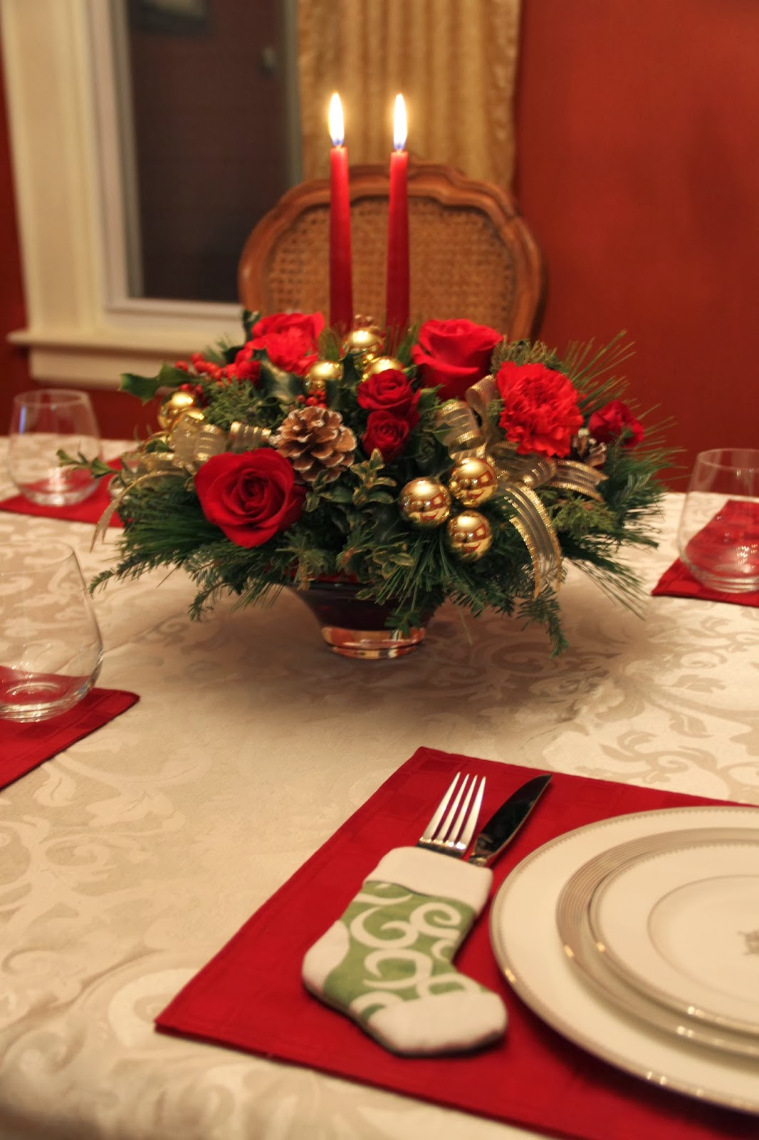 Christmas Centerpiece Giveaway : Decorating tips giveaway sponsored by teleflora