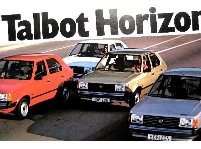 CRUISER - Clásicos en escala 1/43 (1:43 Classics): TALBOT HORIZON (1980)