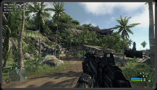 Crysis 1 game Vulkan DXVK Linux