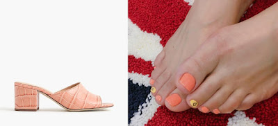 gel nail polish pedicure design