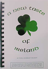 a new taste of Ireland cookbook
