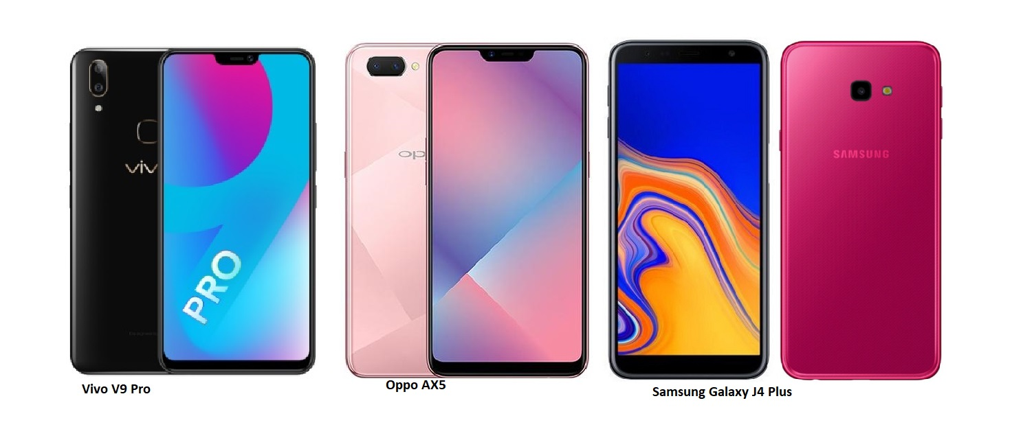 Tspn1 Vivo V9 Pro Vs Oppo Ax5 Samsung Galaxy J4 Plus Comparisons Micro Sd 64 Gb With Adapter The Comes 6 Of Ram And Internal Memory Which Can Be Expanded Via Microsd Boasts 13 2 Megapixels Dual