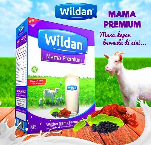 susu kambing wildan mama premium