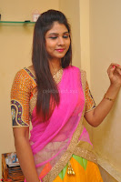Lucky Sree in dasling Pink Saree and Orange Choli DSC 0337 1600x1063.JPG