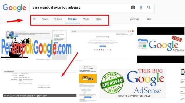hasil pencarian gambar di search engine