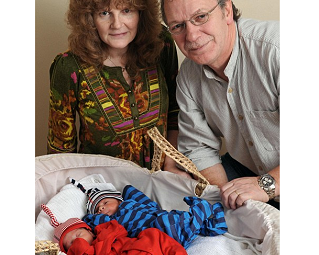 Image: Our little miracles: Twin boys for couple who spent 25 years and £100,000 trying to conceive
