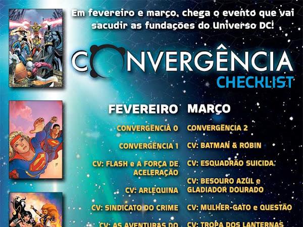 Lançamentos de fevereiro: Panini Comics - DC Comics [CONVERGÊNCIA com guia de leitura]