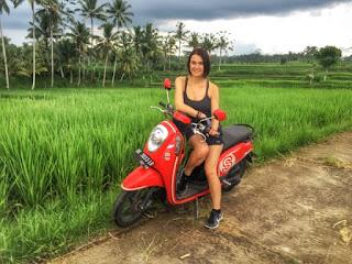 Sewa Motor di Kuta Bali