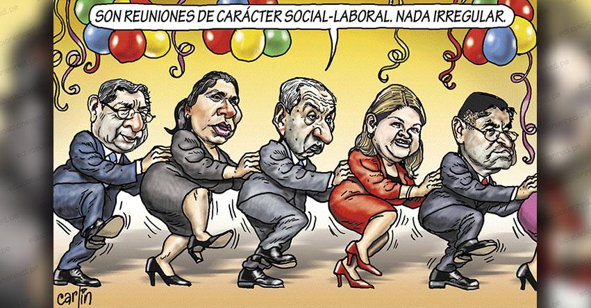 Carlincaturas Martes 4 Junio 2019 - La República