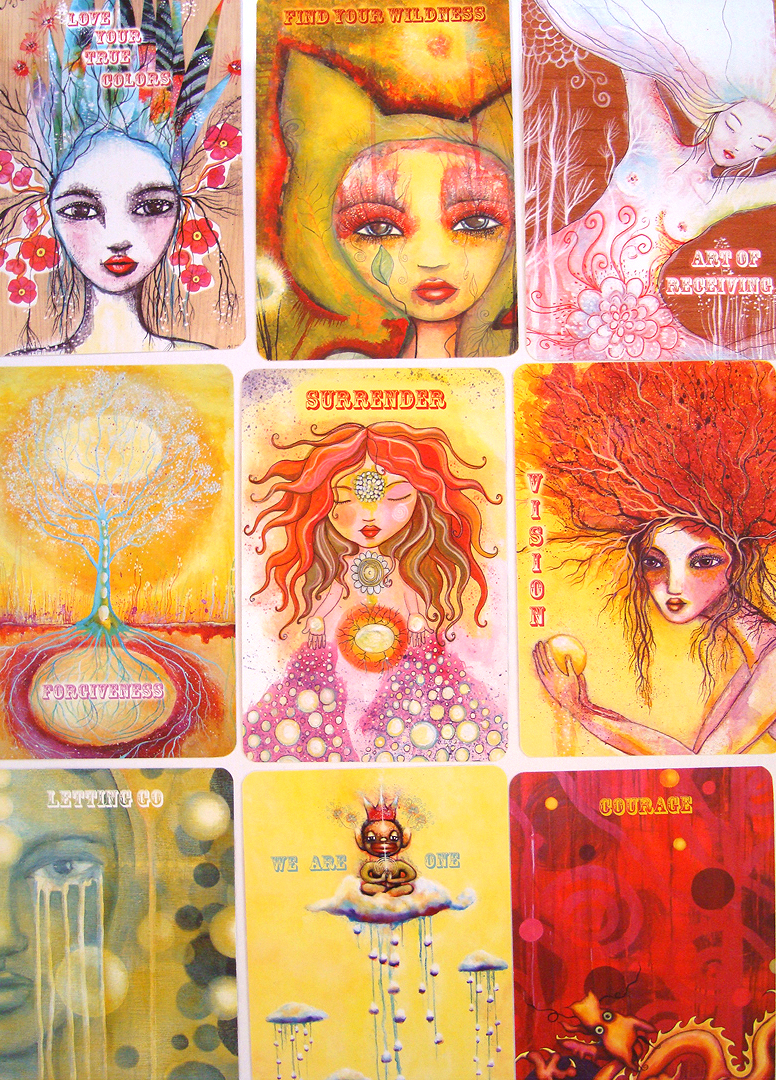 """Outiart: """"Love Your True Colors"""" Oracle Card Deck"""
