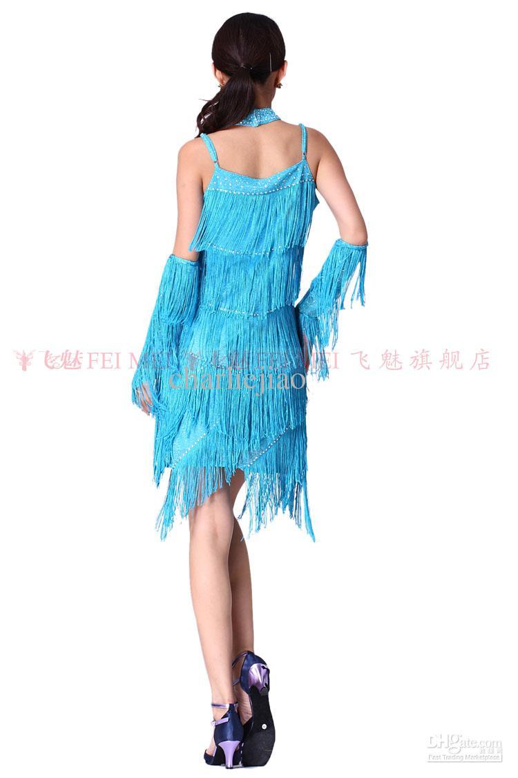 Ballroom latin dance dresses