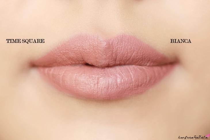 ColourPop Ultra Matte Lip TIME SQUARE VS BIANCA