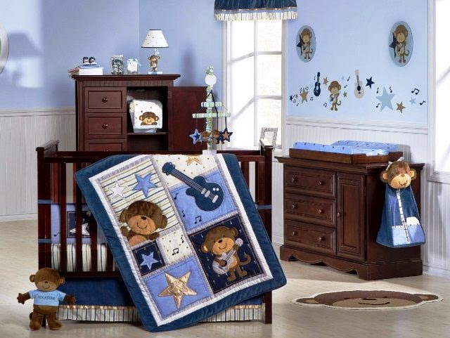 baby boy wall color ideas