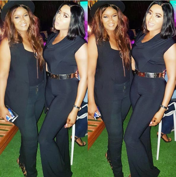 Who rocked it better? Rukky Sanda and Omotola rock matching jumpsuits