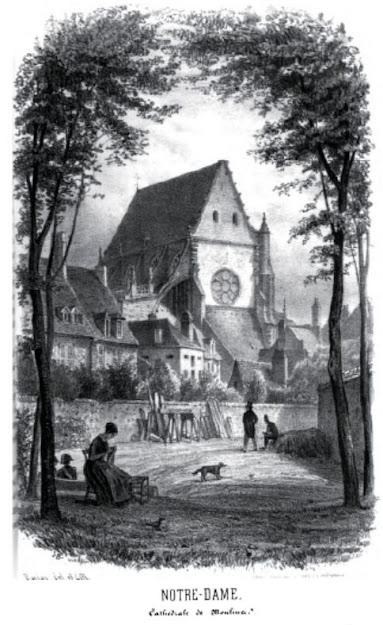 Patrimoine de l'Allier: Notre Dame, Cathédrale de Moulin