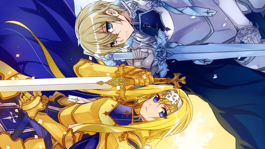 Alice, Eugeo, Sword Art Online Alicization, 4K, #4.1882