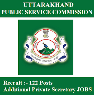 Uttarakhand Public Service Commission, UKPSC, Private Secretary, UK, Uttarakhand, Graduation, freejobalert, Sarkari Naukri, Latest Jobs, ukpsc logo