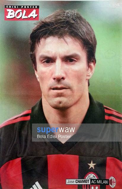 Poster Jose Chamot (AC Milan)