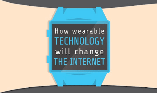How Wearable Technology Will Change the Internet #infographic