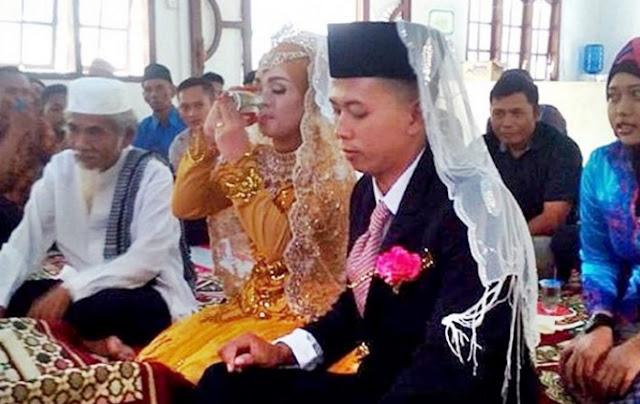 Air Segelas Jadi Mas Kahwin