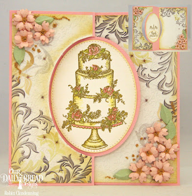 Our Daily Bread Designs Stamp Set: Long Lasting Love, Paper Collection: Wedding Wishes, Custom Dies: Ovals, Pierced Ovals,Bitty Blossoms