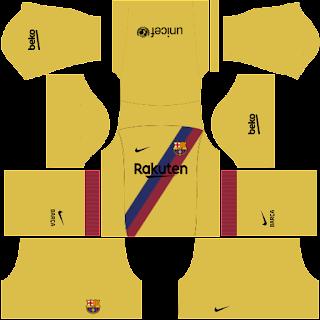 Download Kit Dream League Soccer Barcelona 2020