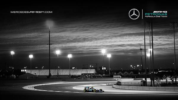 Bahrain F1 2016 Mercedes AMG Petronas