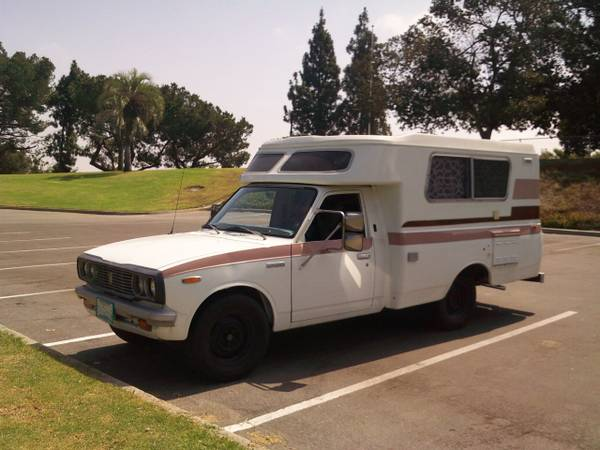 used rvs toyota chinook rv 1976 for sale by owner. Black Bedroom Furniture Sets. Home Design Ideas