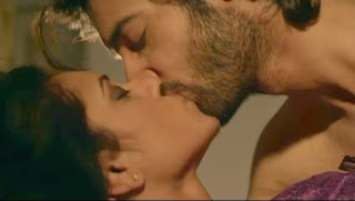 Ssharad Malhotra & Melanie kiss scene in the movie 'Ek Tera Saath'