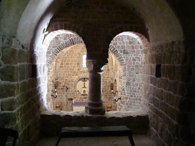 Romańska rotunda pod wezwaniem św. Prokopa w Strzelnie - empora